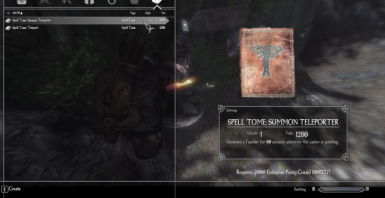 Tomes are created through crafting