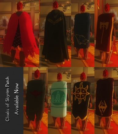 cloaks sample
