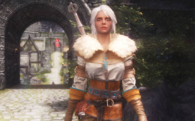 Cirilla (Ciri) Fiona Elen Riannon - Witcher 3 Voiced Follower - Japanese Voice Patch