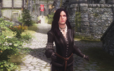 Yennefer of Vengerberg - The Witcher 3 Voiced Standalone Follower - Japanese Voice Patch