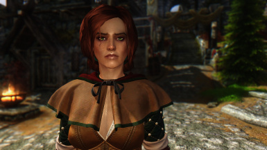 NEW Triss Merigold FOLLOWER UNP-CBBE From The Witcher 3 Game