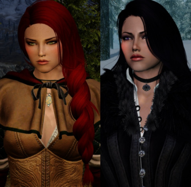 Witcher 3 Yennefer and Triss ECE Presets