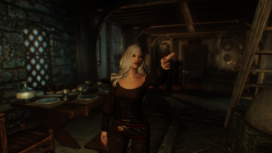The Mystery Girl A vampire Nord RaceMenu preset