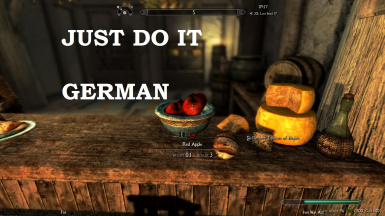 Just Do It - German Translation