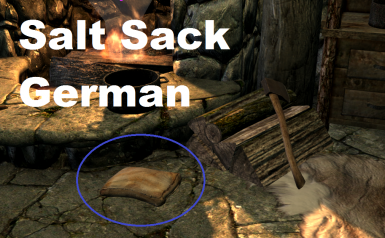 Salt Sacks - German