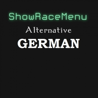 ShowRaceMenu Alternative - German Translation