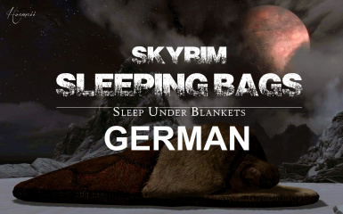 Skyrim Sleeping Bags - Sleep Under Blankets - German Translation