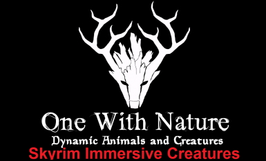 One With Nature - Skyrim Immersive Creatures Patch