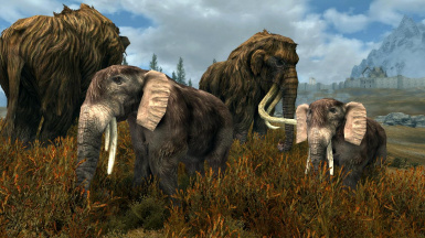 Mammoth Expansion - Elements of Skyrim pt.2 (Mihail immersive add-ons)