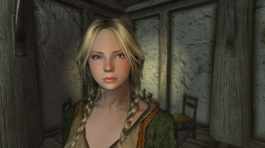 Vilja In Skyrim Makeover