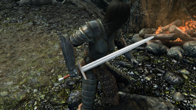 Jets Simple Steel Sword