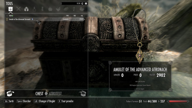 Advanced Atronach Amulet