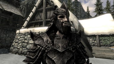 Black Orcish Armor And Weapons