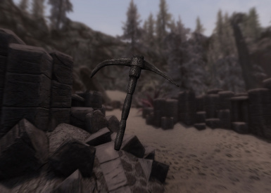 Ancient Nordic Pickaxe 2