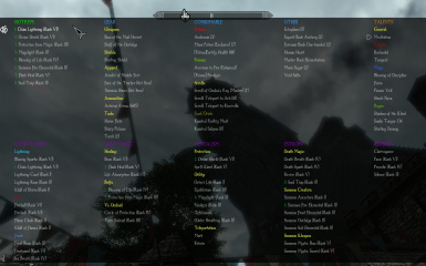 Enderal - Categorized Favorites Menu Config