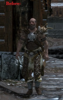 Brunwulf Free-Winter Wears Heavy Armor