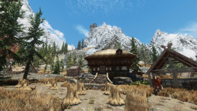 Whiterun Outskirts Market modified for ETaC and Immersive Whiterun