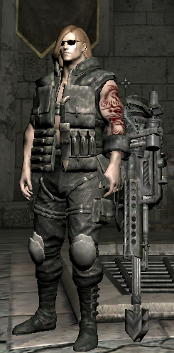 RETEXTURED OUTFIT SCHWARZENEGGER and Modern Weapons Pack by MJP2008