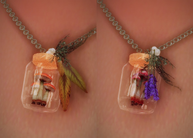 necklace 1 and 2