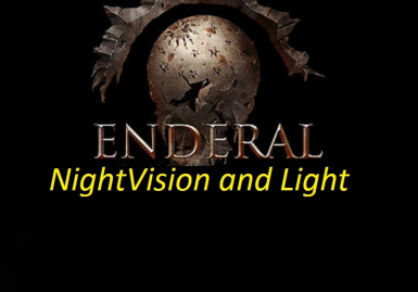 Nightvision and Light for Enderal