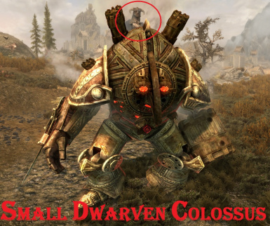 Small Dwarven Colossus