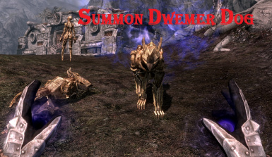 summon dwemer dog