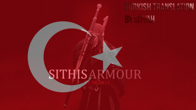 Sithis Armour and Blades Turkish Translation