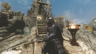 Looks great with Cloaks of Skyrim.