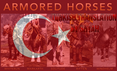 Horse Armors for Skyrim Turkish Translation