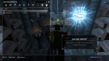 Immersive College of Winterhold Archmage's Enchanting Table Fix
