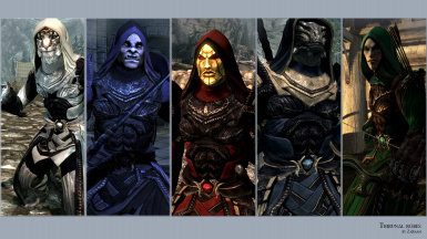 Tribunal Robes and Masks DV - Enderal Version