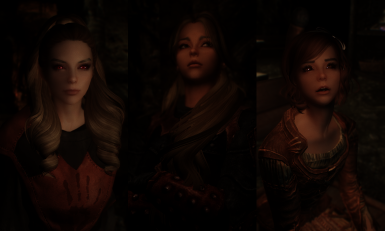 Females of the Dark Brotherhood and a Preset