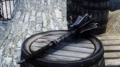 Ebony Mace Update New