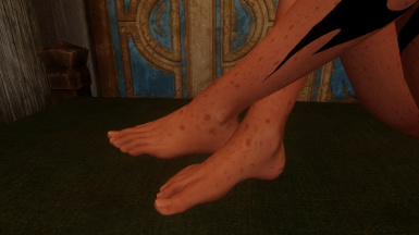 Natural Feet - More adult female foot CBBE - UNP