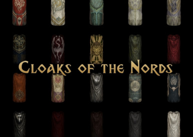 Cloaks of the Nords   Main Logo