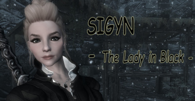 Sigyn - The Lady in Black