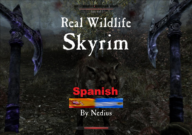 Real Wildlife - Skyrim Spanish -No Food-