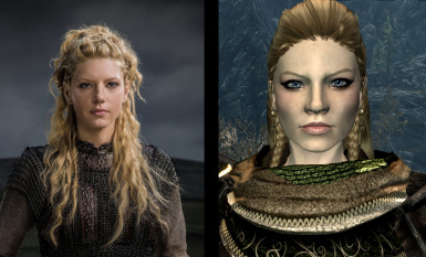 Lagertha of the Vikings Face Preset