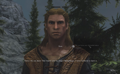 Sven Ballad Dialogue Option Restored