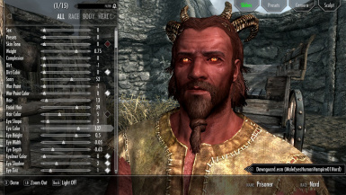 Playable Headparts All Races