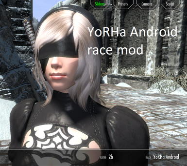 YoRHa Android race