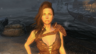 In Dawnstar at night