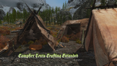 Campfire Leather-to-Fur Fur-to-Leather Tents Crafting