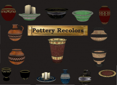 Pottery Recolor-The Third Set