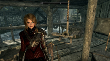 Richer Red Blood Witch Armor