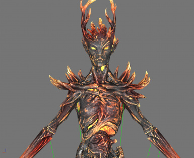 Burnt Spriggan - Before