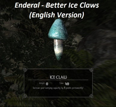 Enderal - Better Ice Claws (English Version)