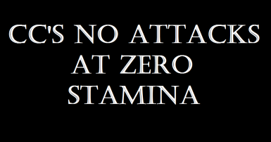 CC's No Attacks At Zero Stamina (NA0S)