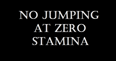 CC's No Jumping At Zero Stamina (NJ0S)