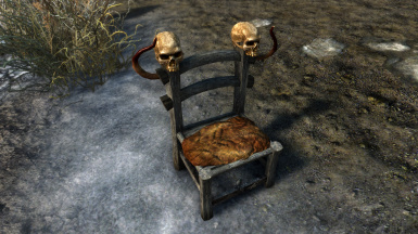 Necromancer Chair for camping